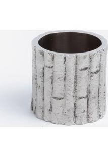 Vaso Bamboo (Prata, Un)