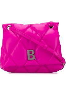 Balenciaga Bolsa Tiracolo Puffy - Rosa