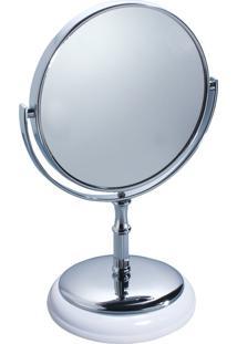 Espelho Redondo Com Suporte York - Interdesign