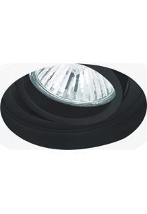 Spot Embutido Conecta Bella Iluminação - Caixa Com 5 Unidade - Branco/Preto