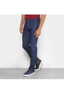 Calça Jeans Skinny Rockblue Básica Tradicional Masculina - Masculino-Azul