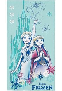 Toalha De Banho Infantil Aveludada Frozen