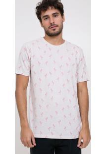 Camiseta Estampada Flamingo