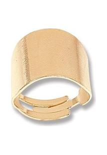 Anel Le Diamond Liso Dourado