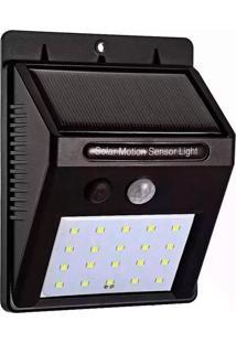 Luminária Solar De Parede Thata Esportes Pequena 25 Leds