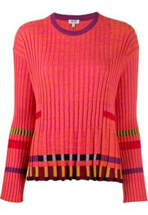 Kenzo Ridged Knitted Top - Rosa