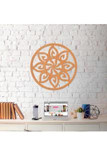 Escultura De Parede A Laser Mandala Sol