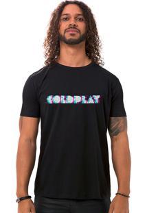 Camiseta Masculina Coldfuzz Preto B