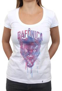 Bafônica - Camiseta Clássica Feminina