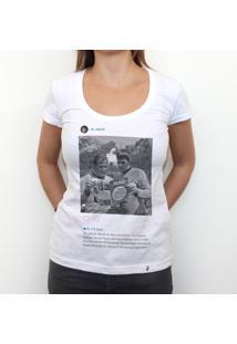 Mr. Spock - Camiseta Clássica Feminina