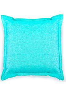 Capa De Almofada Toulouse Cor: Azul Turquesa - Tamanho: Único