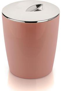 Lixeira Vitra 5 Litros Cromo Rosa Ou
