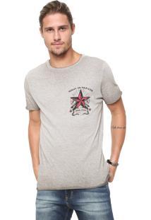 Camiseta John John Heaven Cinza