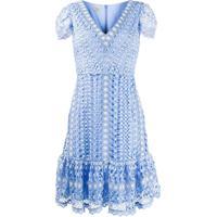 Vestido Croche Ziper Feminino Shoelover