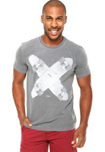 Camiseta Redley Skate Cinza