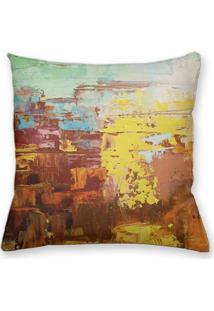 Capa De Almofada Decorativa Own Colorful Abstract 45X45 - Somente Capa