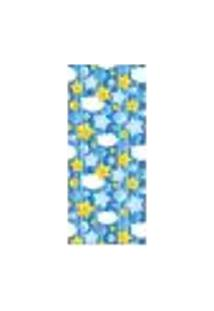 Adesivo Decorativo De Porta - Estrelas - Infantil - 1361Cnpt