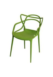 Cadeira Master Allegra Polipropileno Verde - 21401 Verde