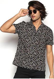 Camisa Coca-Cola Aloha Floral Masculina - Masculino-Colorido