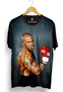 Camiseta Bsc Love Full Print - Masculino-Preto