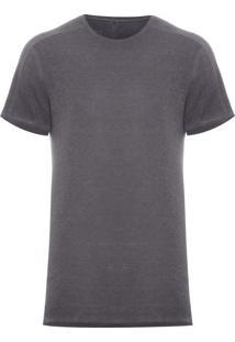 Camiseta Masculina Gaze A Seco - Cinza