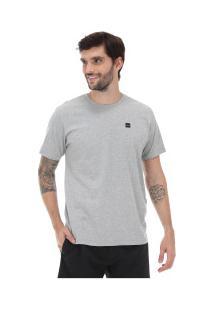 Camiseta Oakley Patch 2.0 - Masculina - Cinza