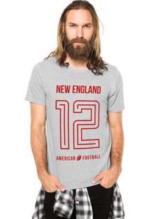 Camiseta Rgx New England American Football Cinza