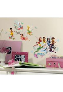 Adesivos De Parede Roommates Colorido Disney Fairies Secret Of The Wings Wall Decals With Glitter