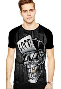 Camiseta Stompy Raglan Modelo 192 Masculina - Masculino