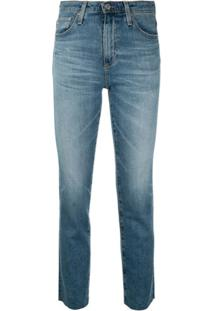 Ag Jeans The Isabelle Slim-Fit Jeans - Azul
