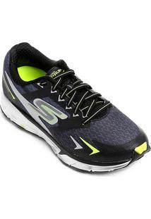 ... Tênis Skechers Go Run Forza Masculino - Masculino-Preto+Verde 4e9a274ab8dba