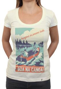 Imagina As Pessoa Tudo - Camiseta Clássica Feminina