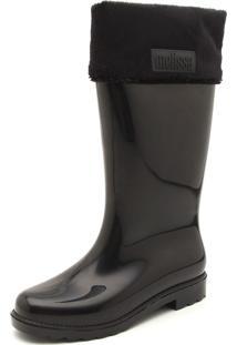 Bota Melissa Winter Boot Preta