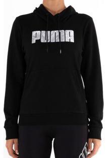 Blusão Puma Ka Hoody Tr Preto Feminino G