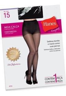 Meia Calça Hanes C/ Elastano Fio 15 H716 - Feminina - Feminino-Grafite