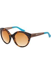 Óculos De Sol Colcci C0018 Feminino - Feminino-Marrom