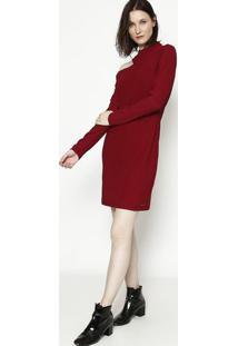 Vestido Liso- Bordã´- Colccicolcci