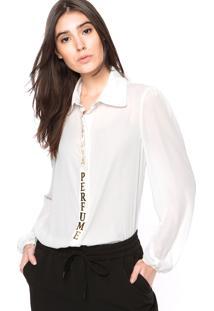 Camisa Lança Perfume Ferragem Off-White