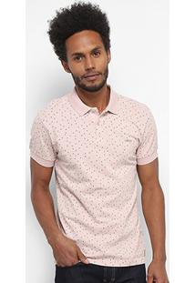Camisa Polo Colcci Full Print Masculina - Masculino