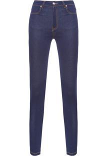 Calça Feminina Skinny Classic - Azul