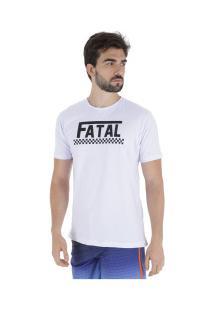 Camiseta Fatal Estampada 22142 - Masculina - Branco