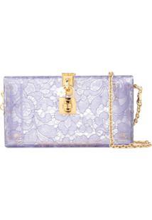 Dolce & Gabbana Bolsa Tiracolo Dolce Box - Roxo