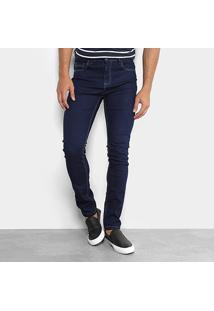 Calça Jeans Skinny Copen Lavagem Escura Masculina - Masculino