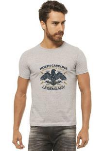 Camiseta Joss - North - Masculina - Masculino-Mescla