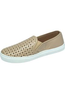 Slip On New Zapattus Bege - Kanui