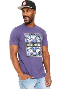 Camiseta Element Note Roxa