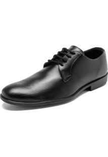 Sapato Social Fiveblu Liso Preto
