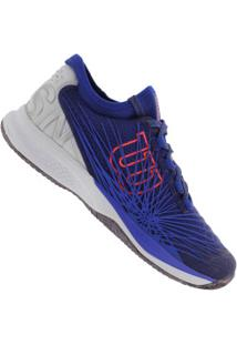 Tênis Wilson Kaos 2.0 Sft Clay Court - Masculino - Azul/Branco