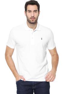 Camisa Polo Sergio K Reta Básica Branca