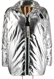 Nº21 Reversible Padded Jacket - Prateado